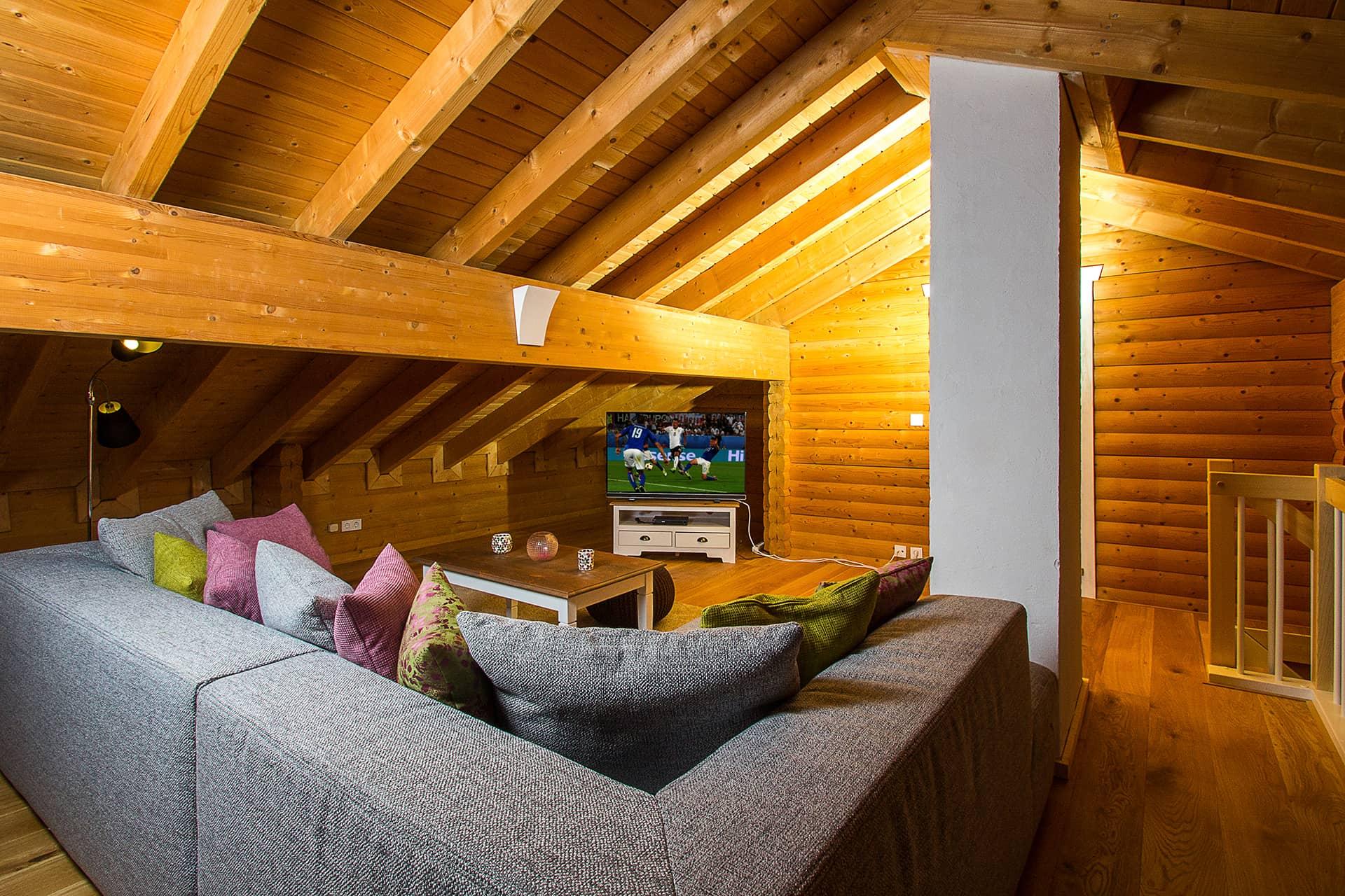 Chalet 2 Wohnzimmer